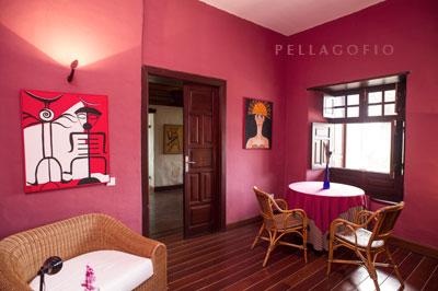 Salita de la suite Uga.| FOTO T. GONÇALVES