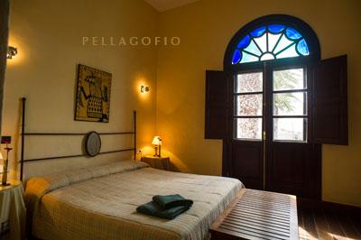 Dormitorio de la suite Uga.| FOTO T. GONÇALVES