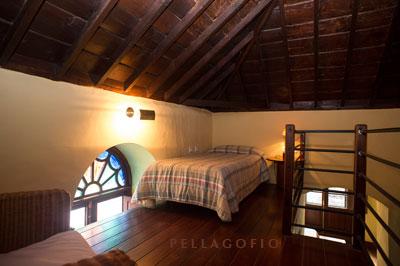Altillo en la suite Uga.| FOTO T. GONÇALVES