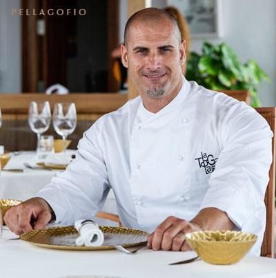 Germán Blanco es el chef del restaurante La Tegala.
