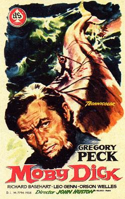 Cartel de la película 'Moby Dick'./ ARCHIVO DEL PROYECTO SALVAR LA MEMORIA: 50 AÑOS DE TIRMA Y MOBY DICK