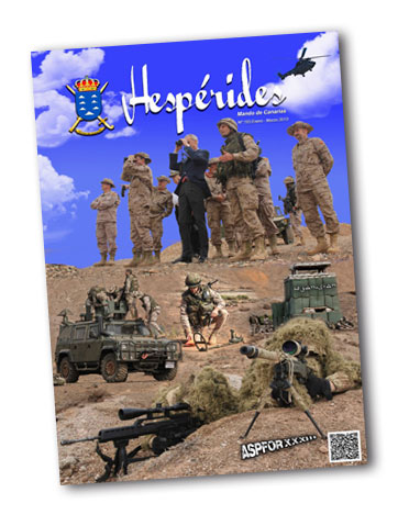 """Portada del número de la revista 'Hespérides' donde se reivindica como """"héroe"""" la figura del alférez Malo."""