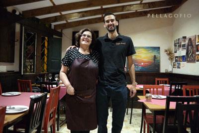 Bruno Rodríguez y Olivia Ledesma.