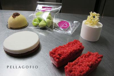 Mimos de lima-limón, tartaleta de queso con guayaba, yogur de limón y vainilla con hilos de chocolate... | FOTO Y. M.