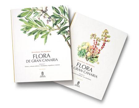 La restauración digital de las 200 láminas de 'Flora de Gran Canaria' llevó cuatro años de trabajo.