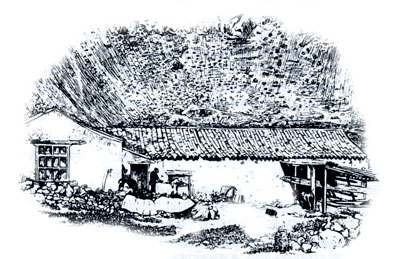 La casa del medianero y el lagar con 130 años de distancia: como lo encontró Olivia Stone al descender en 1883
