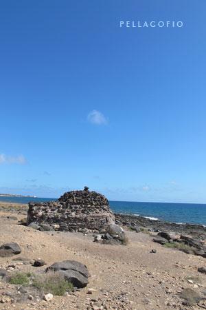 Búnker en la costa oriental de Fuerteventura | foto YURI MILLARES.