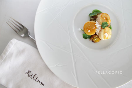 El chef le dio el toque final al plato añadiendo gel de plancton. | FOTO Y. M.
