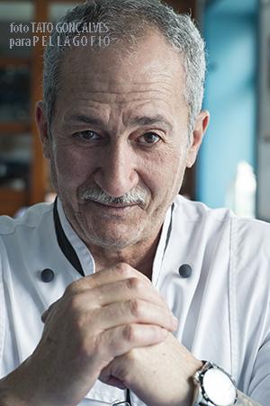 Juan Perdomo, chef del restaurante El_Risco, en Caleta de Famara. | FOTO TATO GONÇALVES