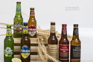 Las clásicas cervezas canarias tienen como descendencia una nueva generación de elaboraciones. | FOTO TATO GONÇALVES