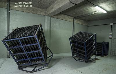 Cava para la crianza de los vinos espumosos en los sótanos de la Bodega Comarcal Valle de Güímar. | FOTO T. GONÇALVES
