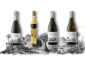 Los cuatro primeros vinos de la colección Paisaje de las Islas: espumoso reserva de listán negra, malvasía naturalmente dulce, forastera gomera y malvasía con marmajuelo. | FOTO ARCHIVO PELLAGOFIO