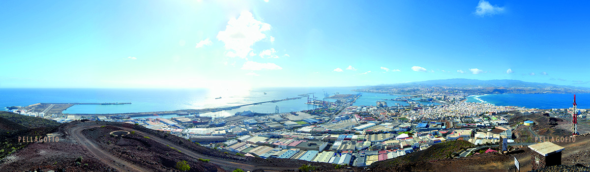 El puerto de La Luz en 2013.| FOTO JULIO QUINTANA
