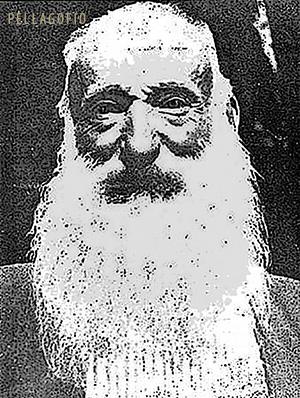 Domingo Medina, el Patriarca del Cedro, retratado en 1927 para la revista 'Hesc. G.pérides'.| ARCHIVO PELLAGOFIO