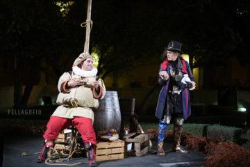 Los personajes de Shakespeare y Falstaff  en 'To Wine or not to Wine', la obra de teatro producida por la DOP Islas Canarias.